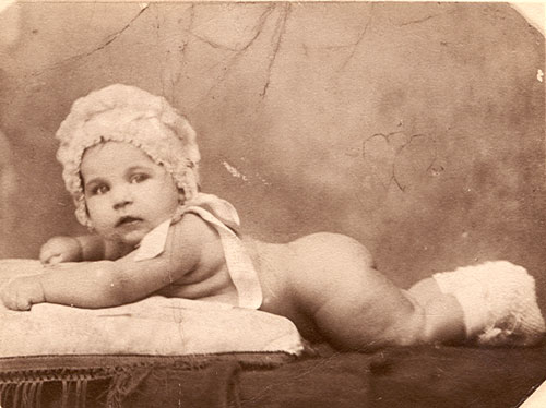 1926 - My mom 6 months old