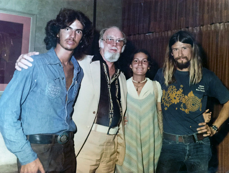 1976 - Ivan, Buz, Betsy and Tom